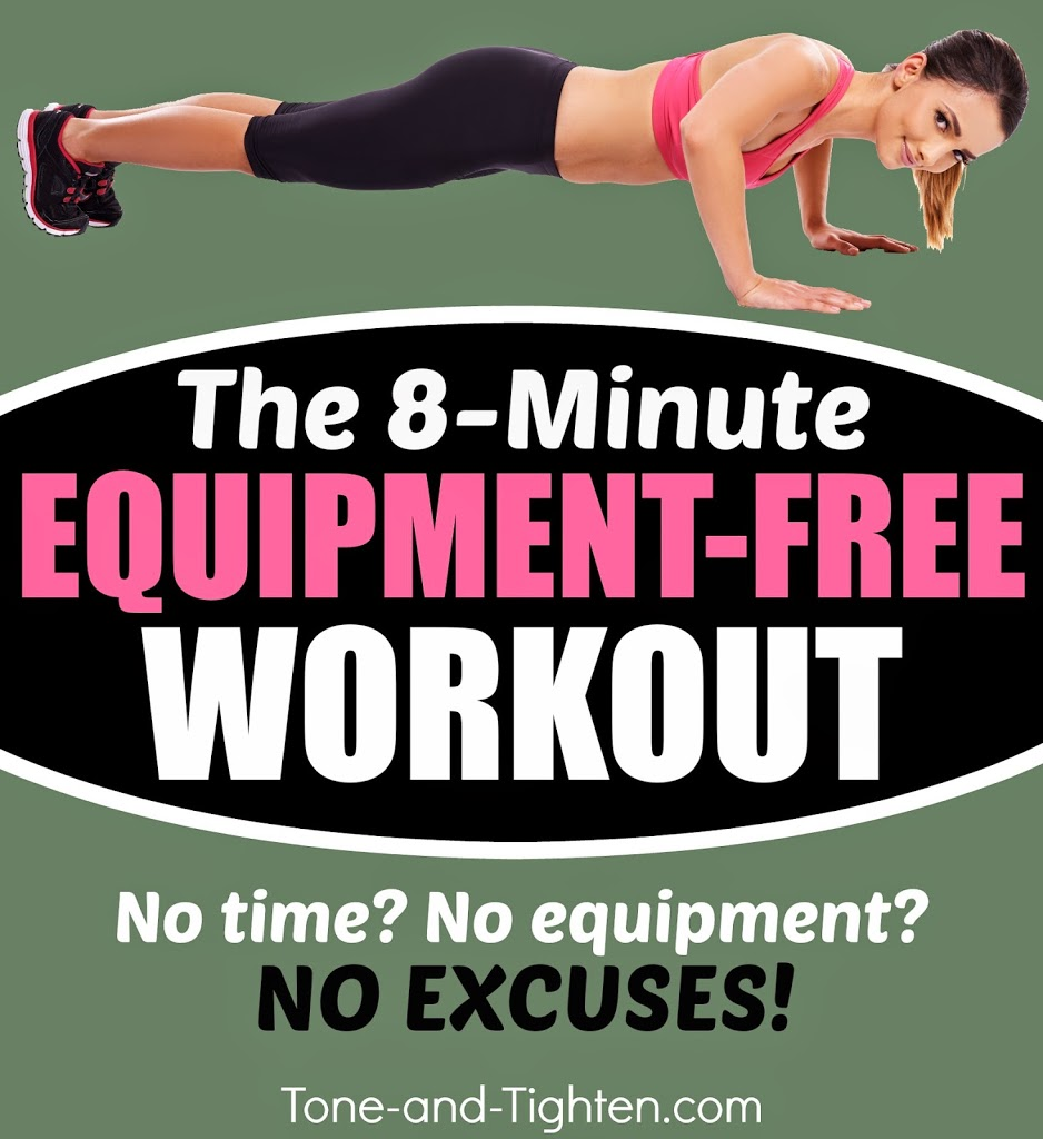 8 Minute At Home Total Body Workout No Equipment Required