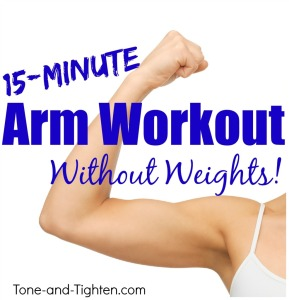 20 minute toned arm workout with personal trainer  tone