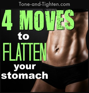 4 moves to flatten your stomach tone abs muscles tone and tighten