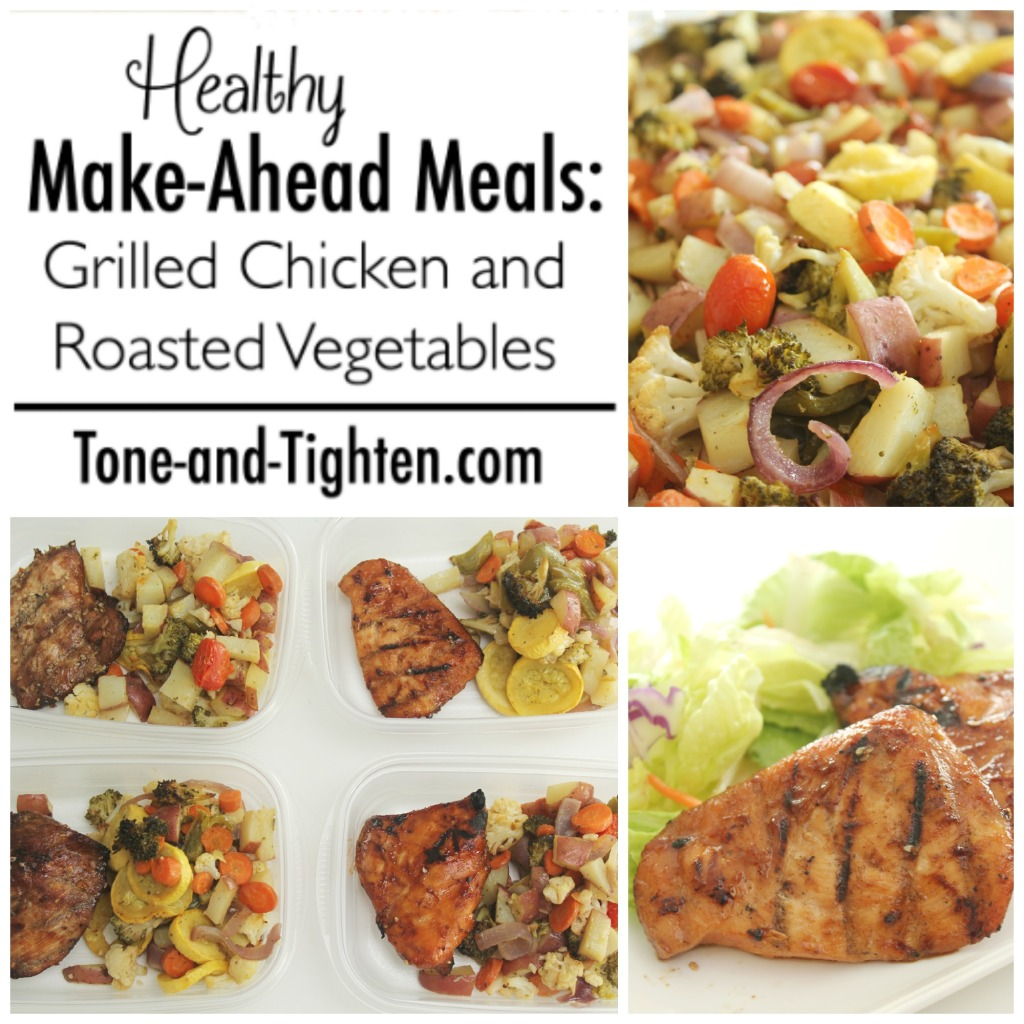 Healthy Make-Ahead Meals on Tone-and-Tighten