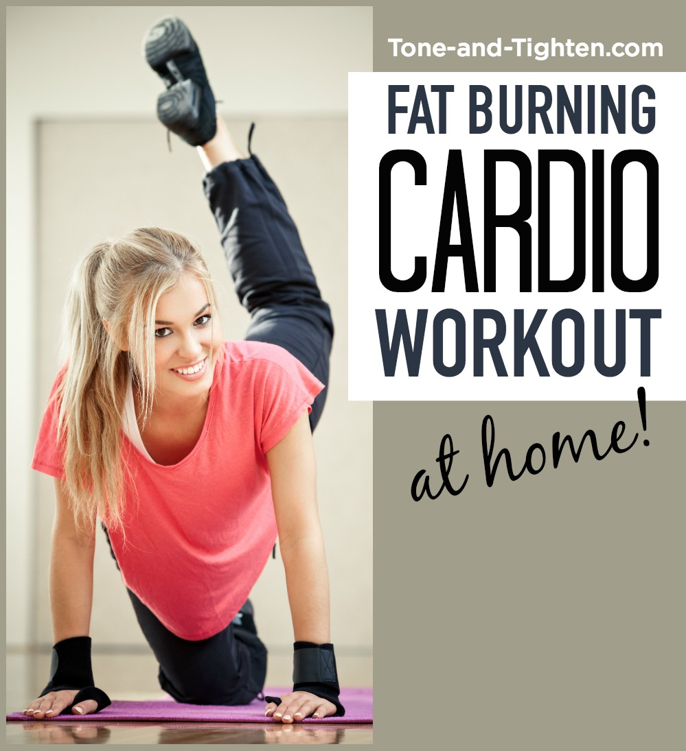 At Home Cardio Workout Tone Tighten