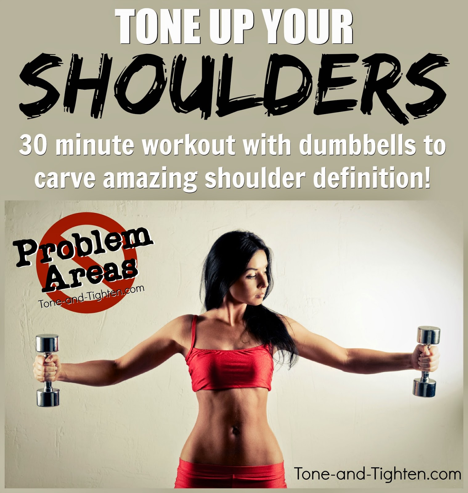 20 Minute Toned Arm Workout (with personal trainer) | Tone ...