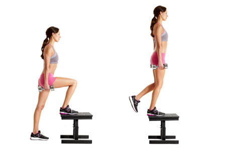 bench step-ups