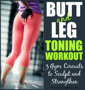 butt and leg toning workout gym circuit tone and tighten