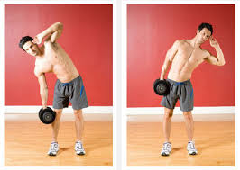 Awesome Core Workout With Dumbbells Weights