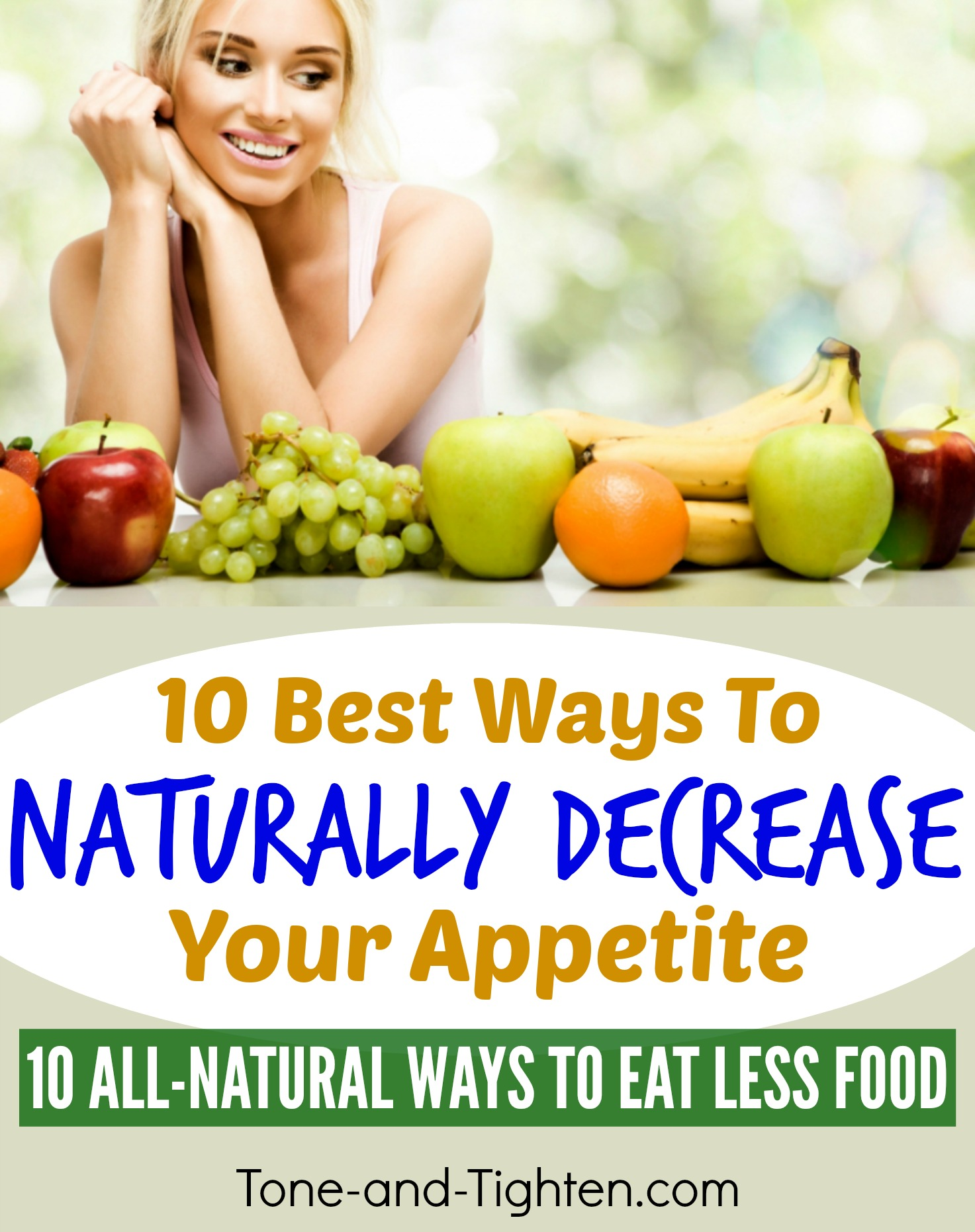 Best Way To Curb Appetite Naturally