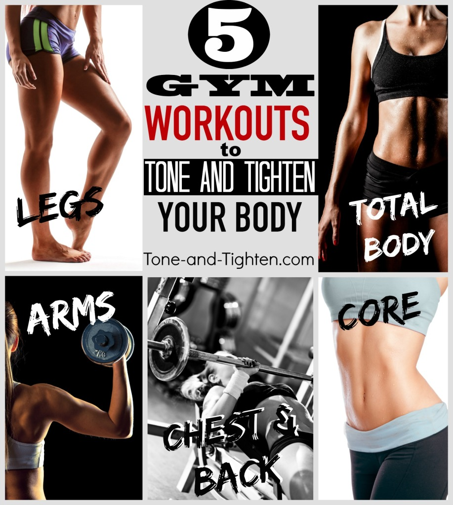 Tone Body: 5 Beginner Gym Workouts To Tone And Tighten