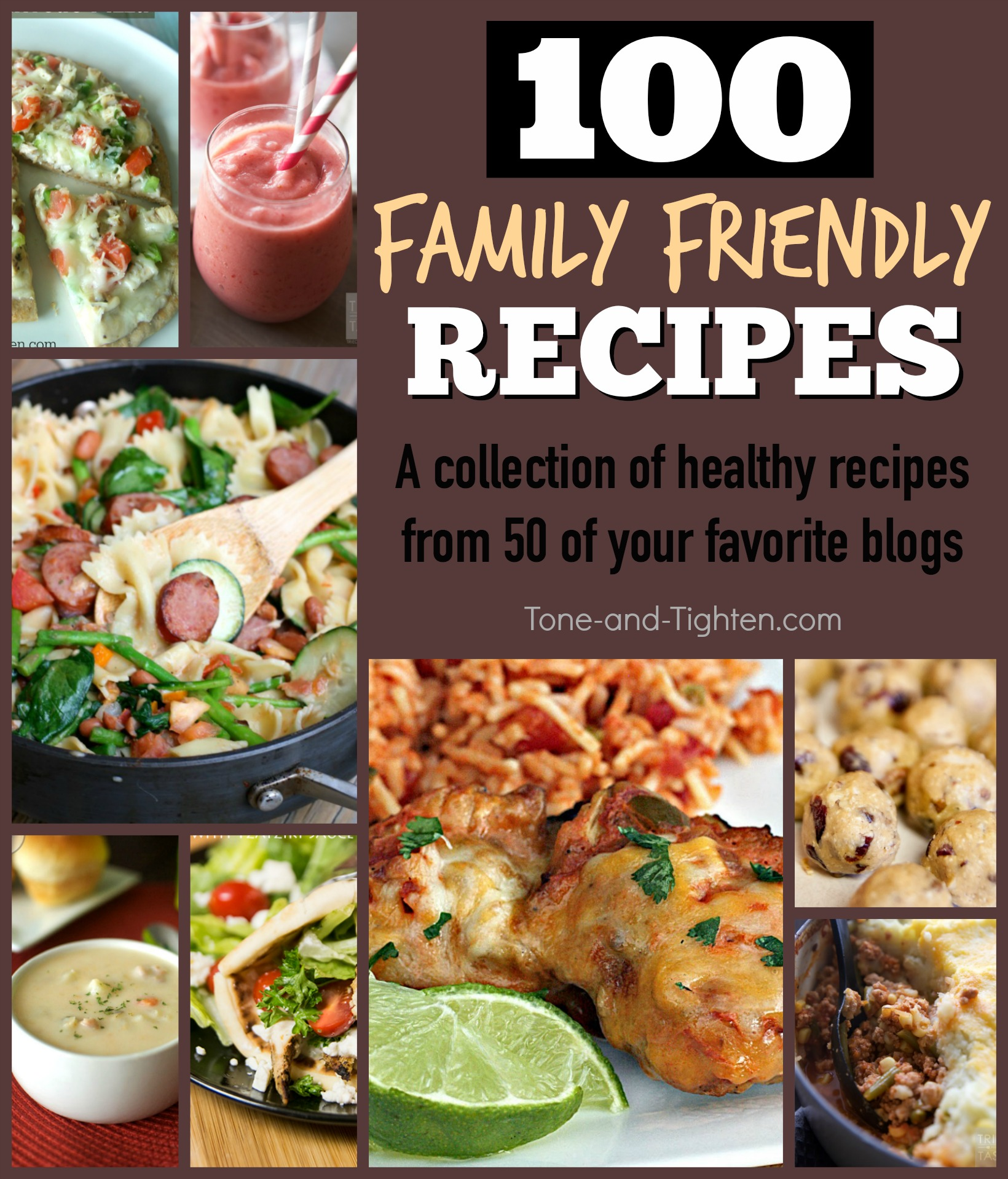 100 best healthy family friendly recipes tone and tighten best healthy family recipes from all the best blogs tone and tighten forumfinder Gallery