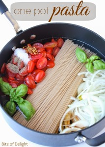one pot pasta main