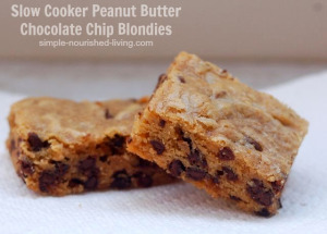 "Slow Cooker Peanut Butter Chocolate Chip Cookies from ""Simple ..."