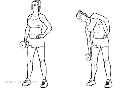 standing oblique side bend