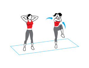 standing oblique twist