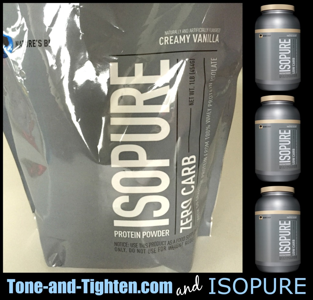 tone and tighten and isopure collage 2