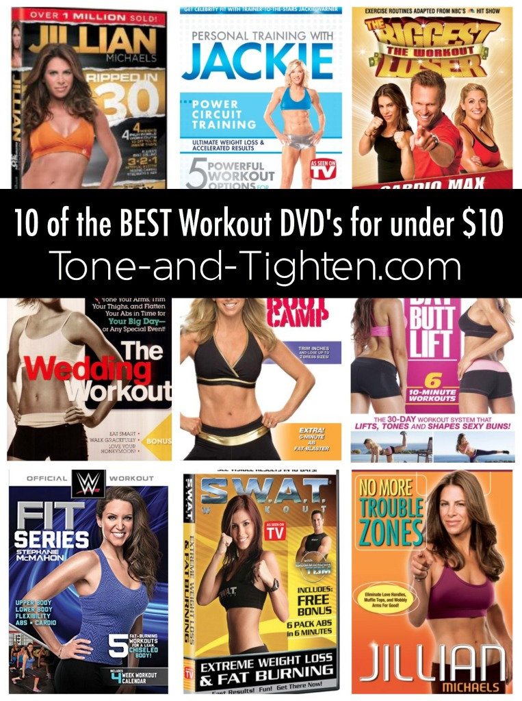 10 of the Best Workout DVDs on Tone-and-Tighten