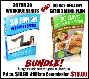 30 For 30 and menu plan bundle affiliate image