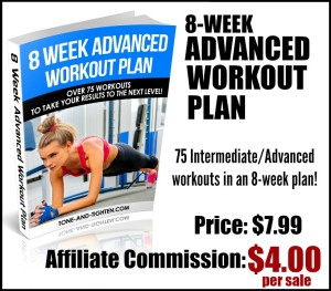 Advanced Workout Plan Affiliate Image