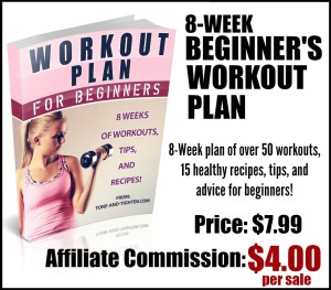 Beginner's Workout Plan Affiliate Image