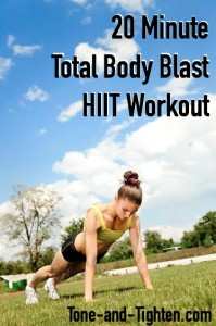 Total Body Blast HIIT Workout on Tone-and-Tighten