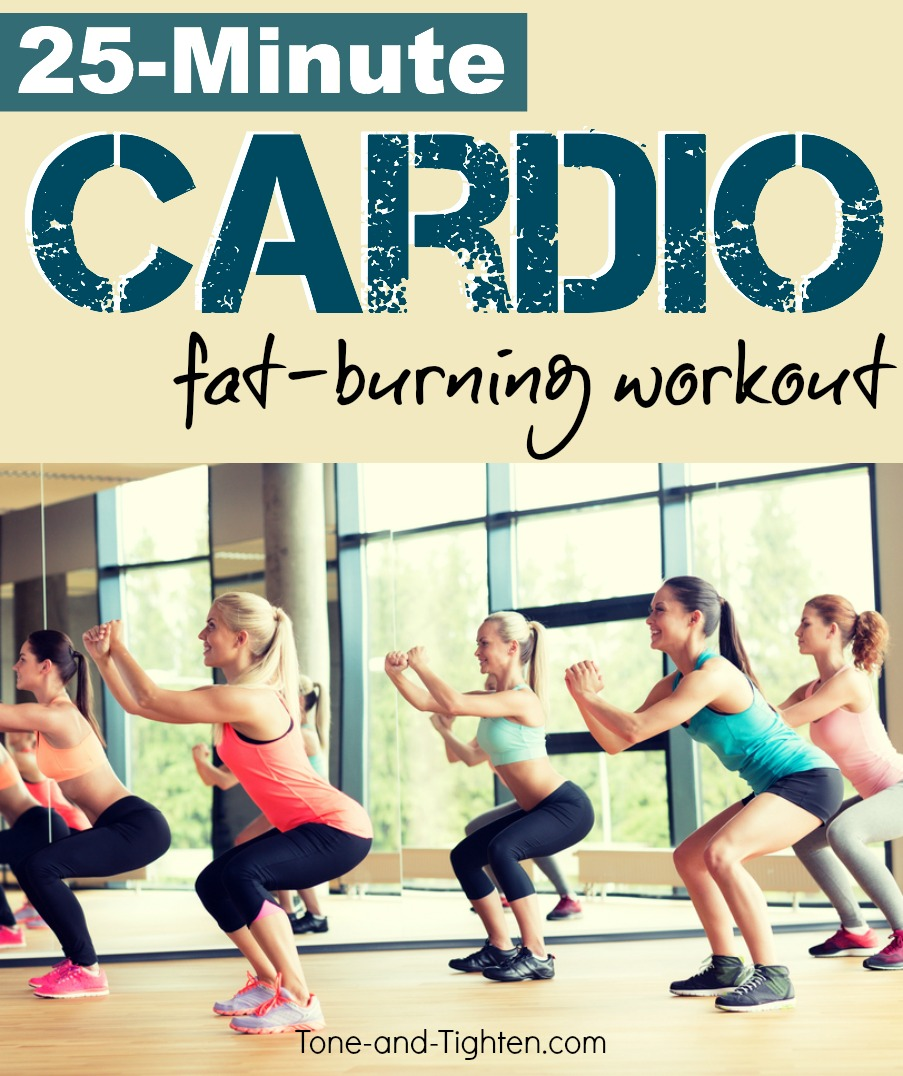 Fat Burning Cardio Circuit Workout Tone And Tighten Training At Home