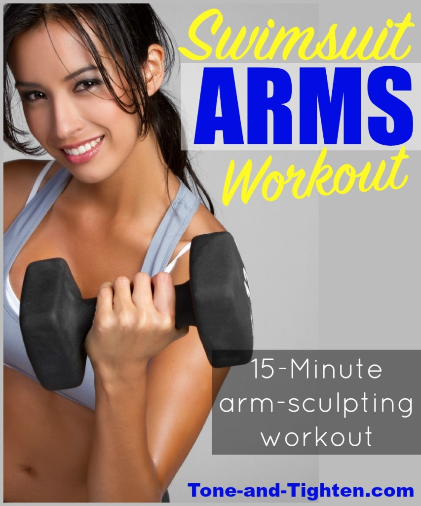 swimsuit arms workout sculpt tone and tighten