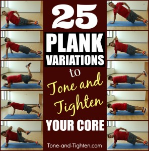 25 plank variations to tone and tighten your core