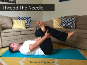 Thread the needle