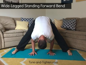 Wide Legged Standing Forward Bend