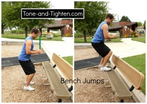 bench-jumps-legs-workout-exercise-playground-routine