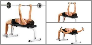 bench or chest fly