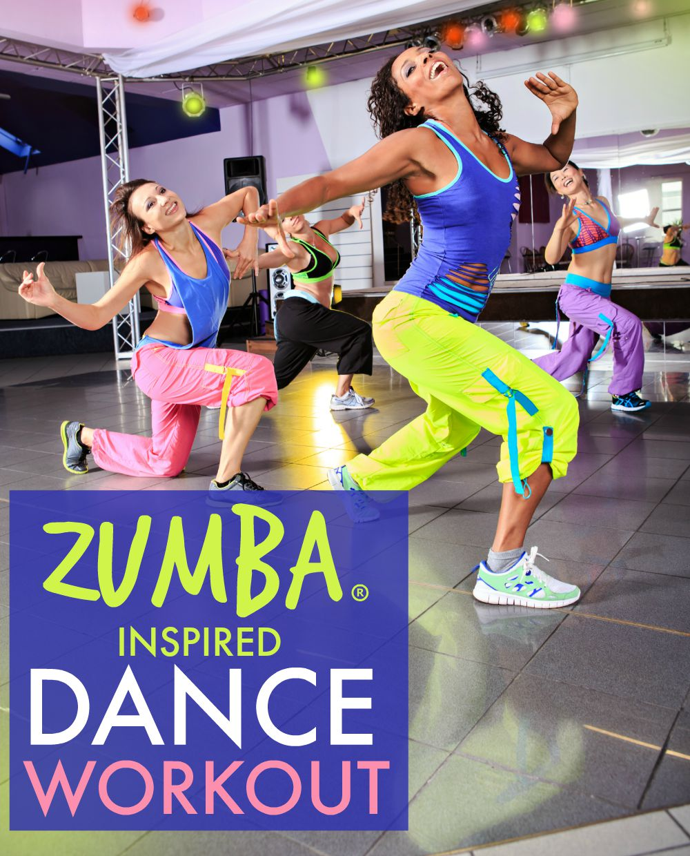 Free At Home Zumba Dance Workout Tone Tighten