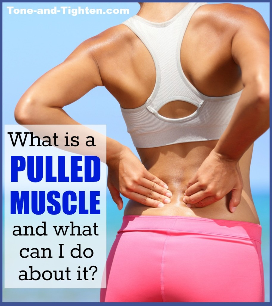 what is a pulled muscle and what to do about it