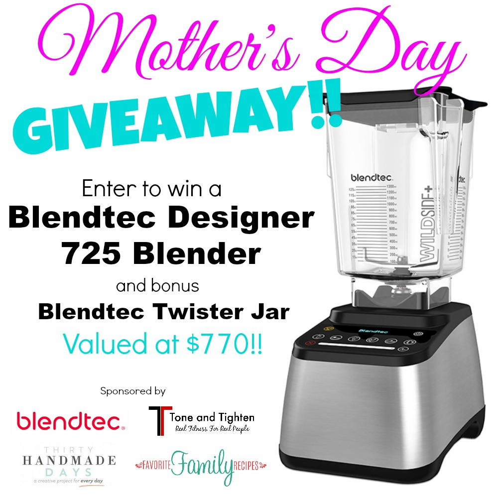 Blendtec Mother's Day Giveaway