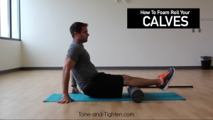 Calves Foam Roller