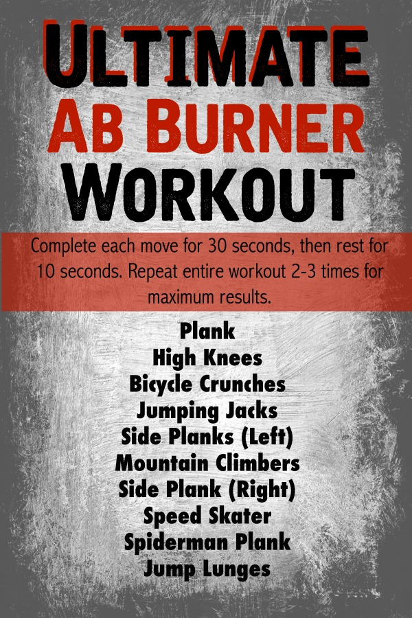Ultimate Ab Burner Workout