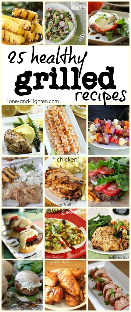 healthy grilled recipes from the grill tone tighten