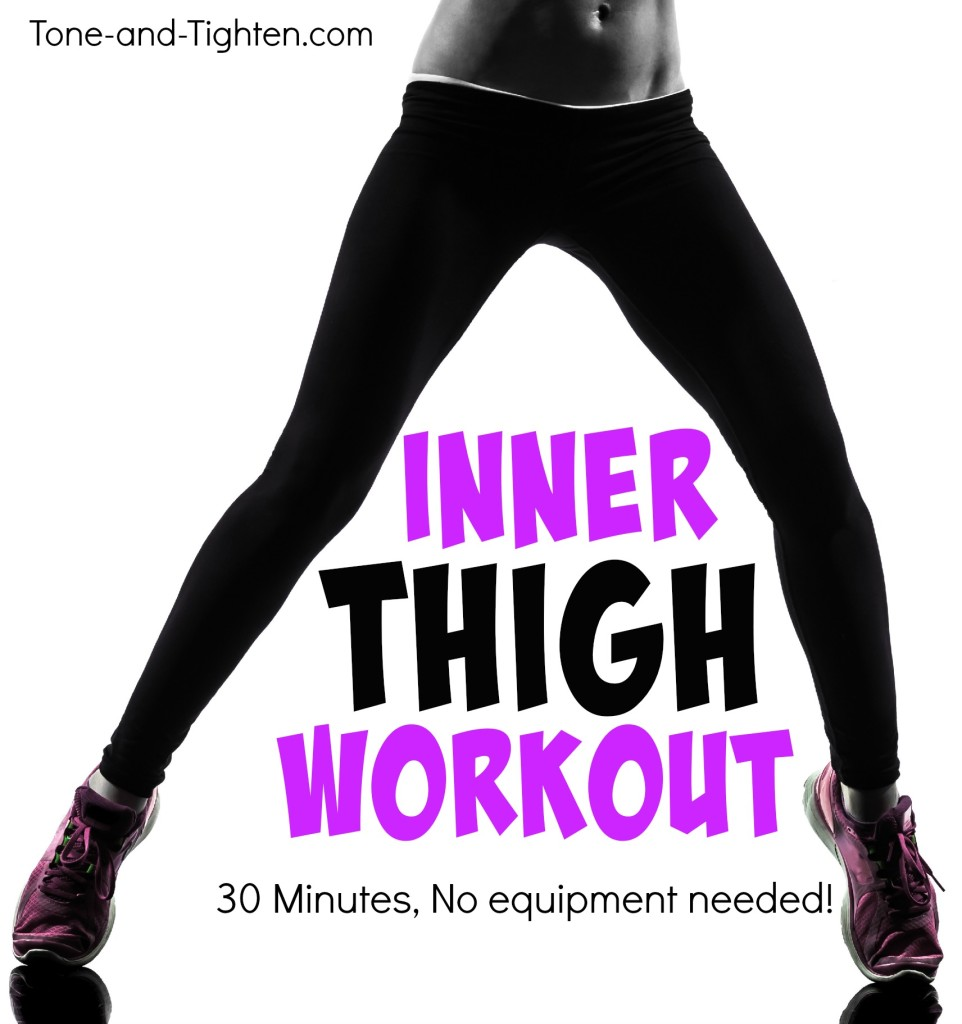 inner thigh workout at home no equipment tone tighten