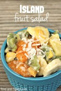 Island Fruit Salad on Tone-and-Tighten.com