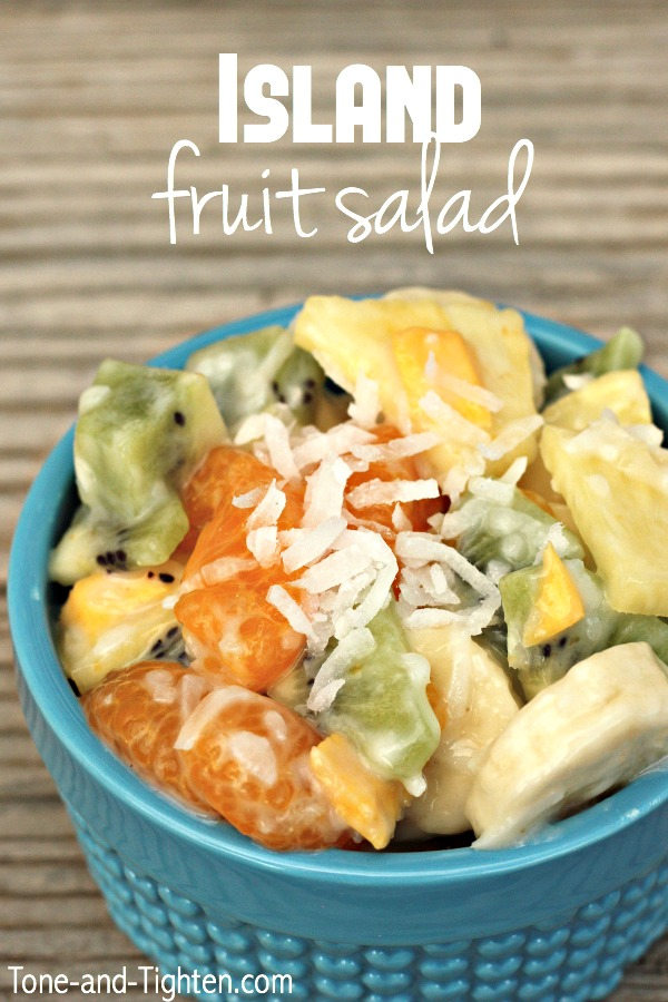 Island Fruit Salad on Tone-and-Tighten.com