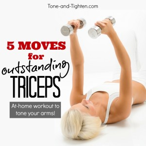best at home triceps exercises weights tone tighten