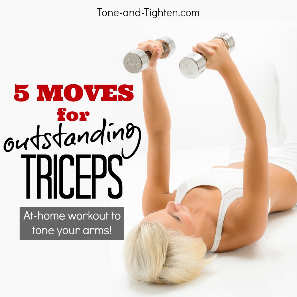 Best Exercises To Tone Triceps