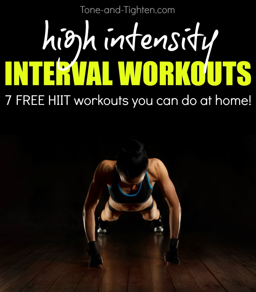 free hiit high intensity workouts you can do at home tone tighten