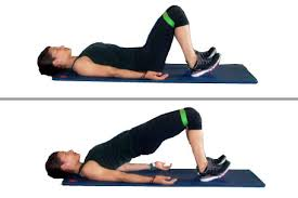 glute bridge resistance band