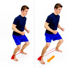 lateral band walk