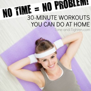 30-minute workouts you can do at home tone tighten