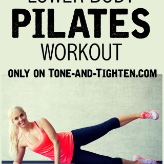 Lower Body Pilates Workout at home on Tone-and-Tighten.com