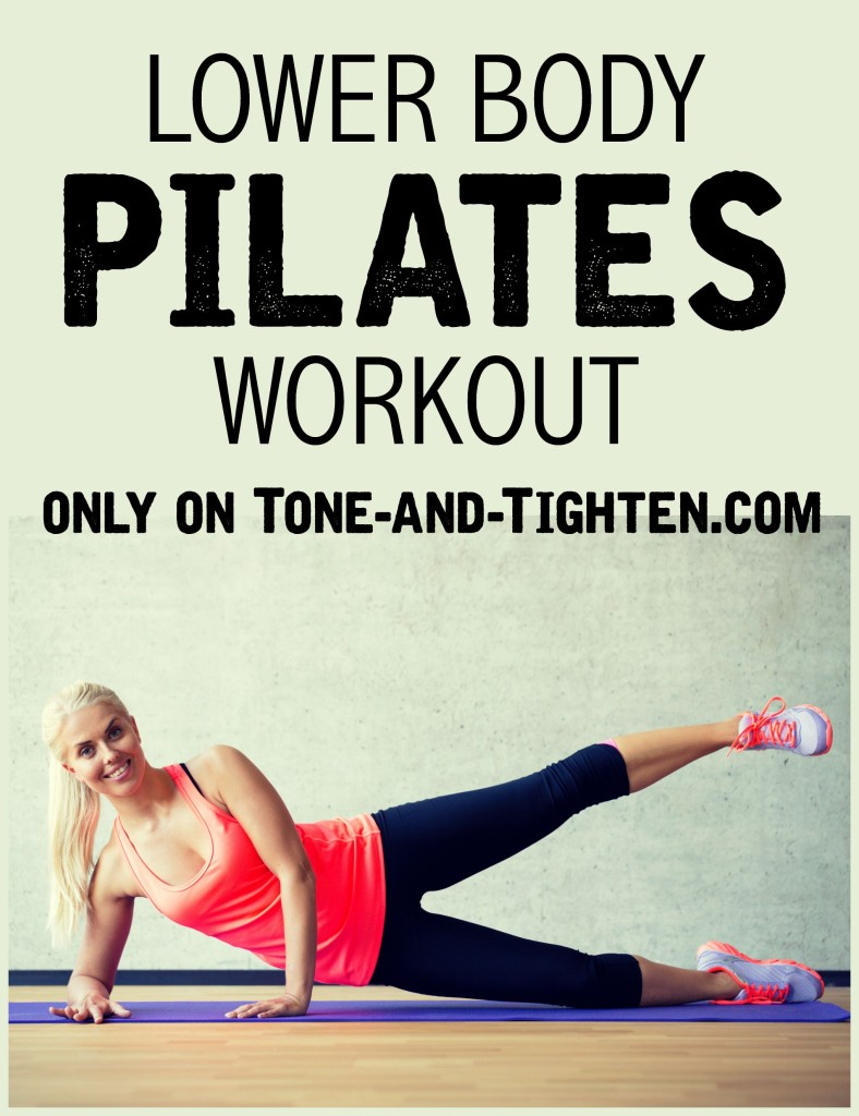 Lower Body At Home Pilates Workout