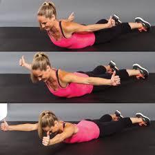 Prone YTI back fat exercise