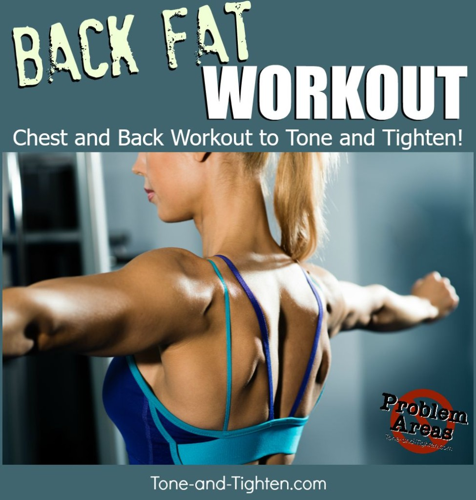 at home back fat workout tone tighten