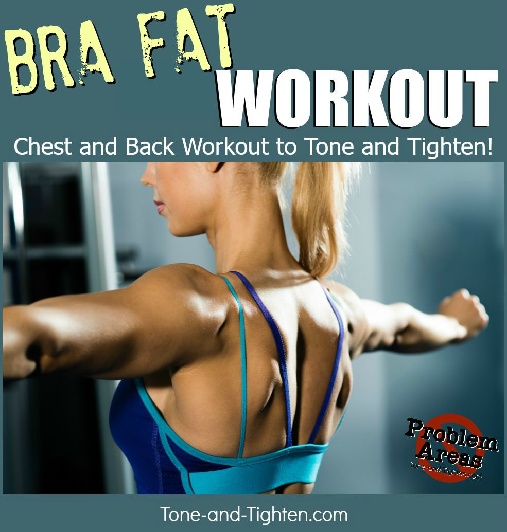 9beaa6f7c8371 The best back fat workout you can do at home to eliminate bra bulge. From