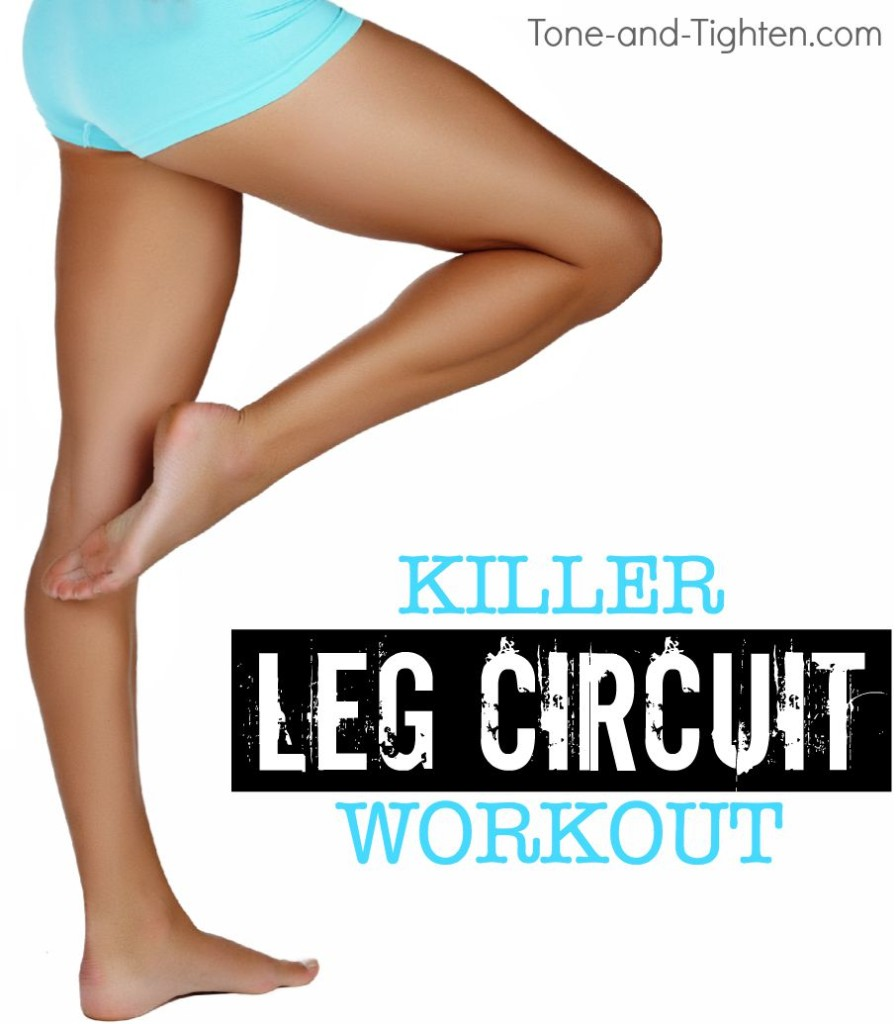 killer leg circuit workout at home tone tighten
